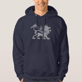 Ras Lion Navy Hoodie