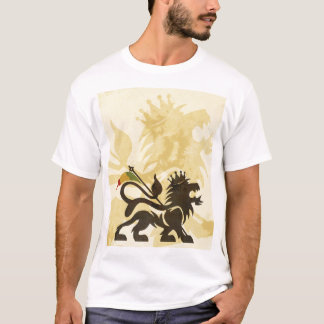 Ras Lion Tan T-Shirt