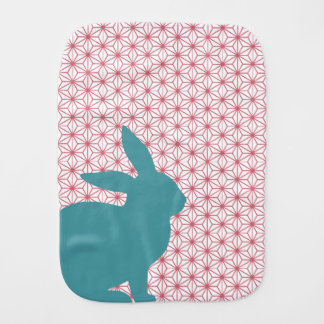 Rascal Rabbit Baby Burp Cloths