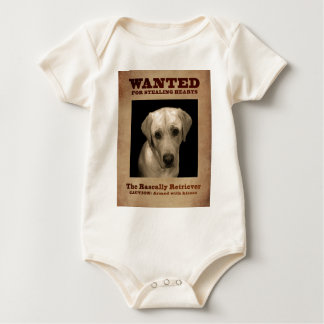 Rascally Retriever, aka Yellow Lab Baby Bodysuit