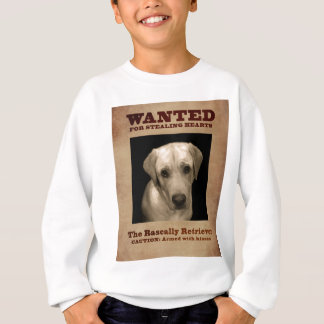 Rascally Retriever, aka Yellow Lab Sweatshirt