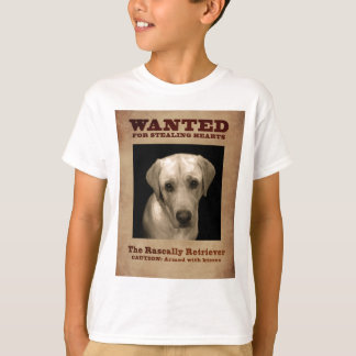 Rascally Retriever, aka Yellow Lab T-Shirt