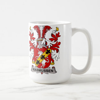 Rasmussen Family Crest Coffee Mug