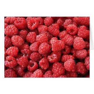 Raspberries Card