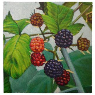 Raspberries Napkin