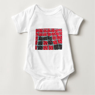 Raspberry and Blackberry Pints Baby Bodysuit