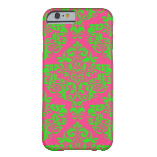 Raspberry and Lime Barely There iPhone 6 Case