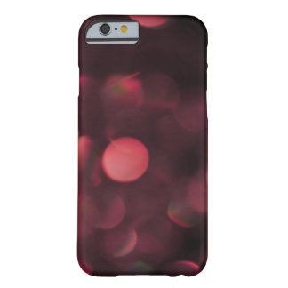 raspberry colored bokeh barely there iPhone 6 case