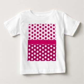 Raspberry Dots Baby T-Shirt