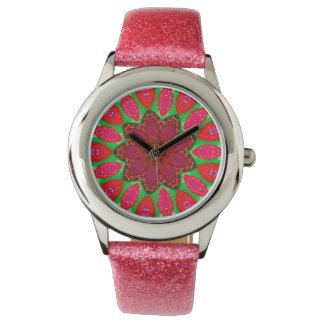 Raspberry Jam Fractal Watch