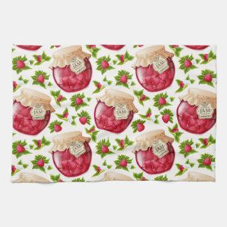 Raspberry Jam Tea Towel