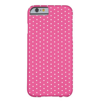 Raspberry Pink Polka Dot iPhone 6 Barely There iPhone 6 Case
