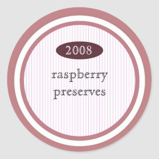 Raspberry preserves food label