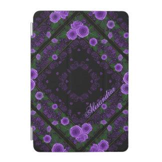 Raspberry Roses & Paisley Bandana Name Template iPad Mini Cover