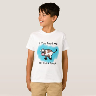 "Raspberry Sassafras ""Do I Not Poop?"" Kid's Tee"