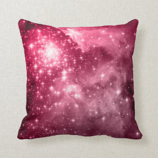 Raspberry Stars Cushion