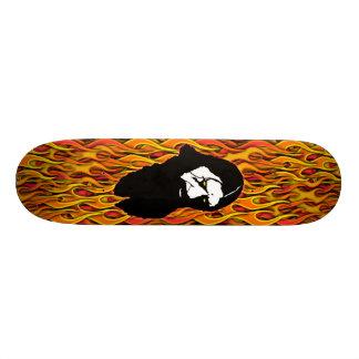Rasputin-Flames Skate Board Deck