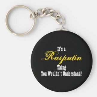 Rasputin Keychain