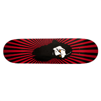 Rasputin -Red Burst Skate Deck