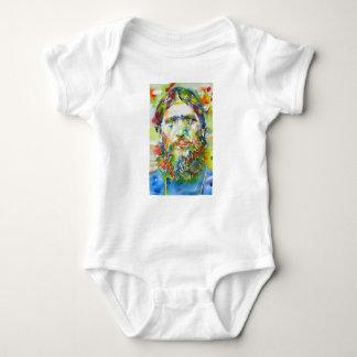 RASPUTIN - watercolor portrait.1 Baby Bodysuit