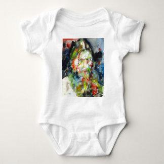 RASPUTIN - watercolor portrait.2 Baby Bodysuit