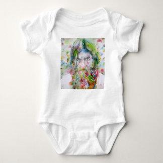 RASPUTIN - watercolor portrait.3 Baby Bodysuit