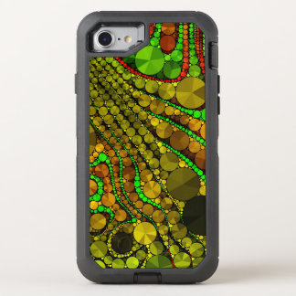 Rasta Abstract Bling Pattern OtterBox Defender iPhone 8/7 Case