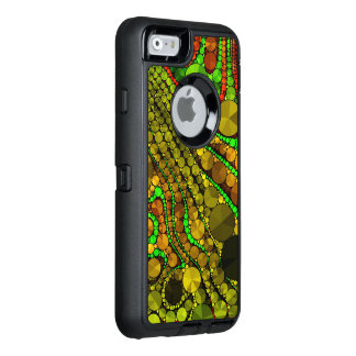 Rasta Abstract Bling Pattern OtterBox iPhone 6/6s Case