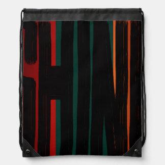Rasta Africa Reggae Dancehall SHINE Drawstring Bag