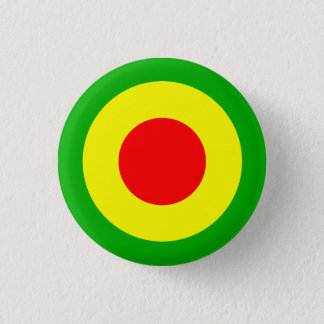 Rasta Air Force 3 Cm Round Badge