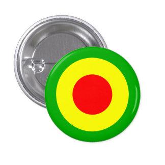 Rasta Air Force 3 Cm Round Badge
