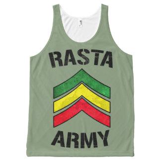 Rasta army All-Over print singlet