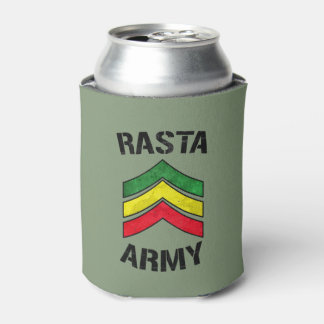 Rasta army can cooler