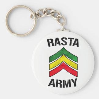 Rasta army key ring