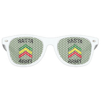 Rasta army retro sunglasses