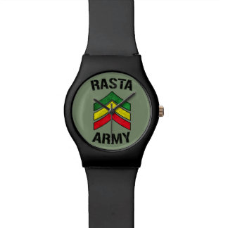 Rasta army watch