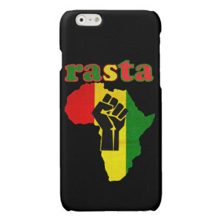 Rasta Black Power Fist over Africa