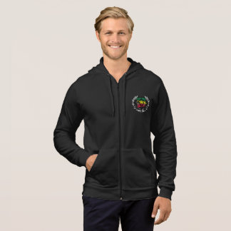 RASTA BUFFALO HOUSE HOODIES