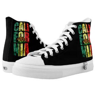 Rasta California Printed Shoes