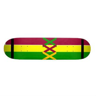 Rasta Deck Custom Skateboard