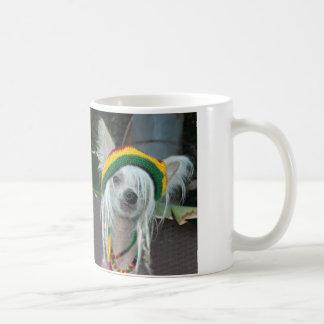 Rasta Dog Chinese Crested Mug