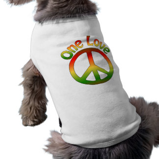 Rasta Dog Tees Sleeveless Dog Shirt