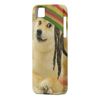 Rasta doge barely there iPhone 5 case
