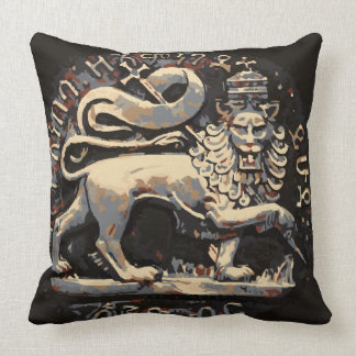 Rasta Earthy Lion of Judah Design Cushion