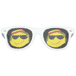 Rasta Emoji Retro Sunglasses