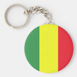 Rasta flag key ring