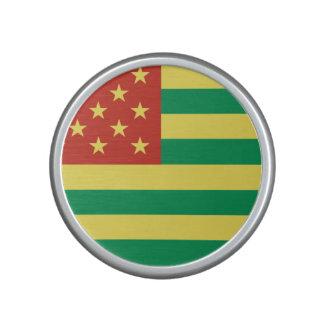 Rasta Flag US Dumpster Speaker