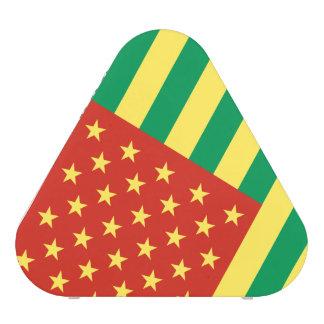 Rasta Flag US Pieladium Speaker