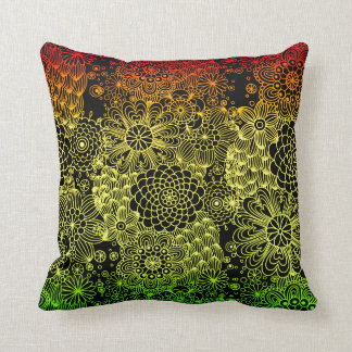 Rasta Flower Cushion