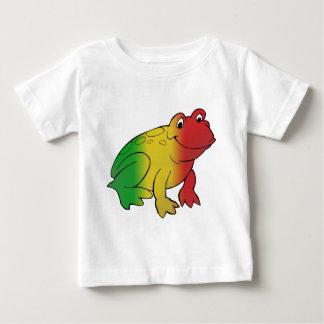 Rasta Frog Baby T-Shirt
